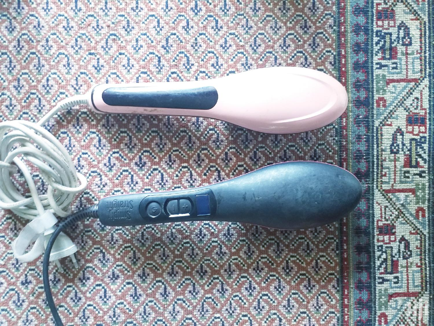 Archive: Electronic Hairbrush Straighteners