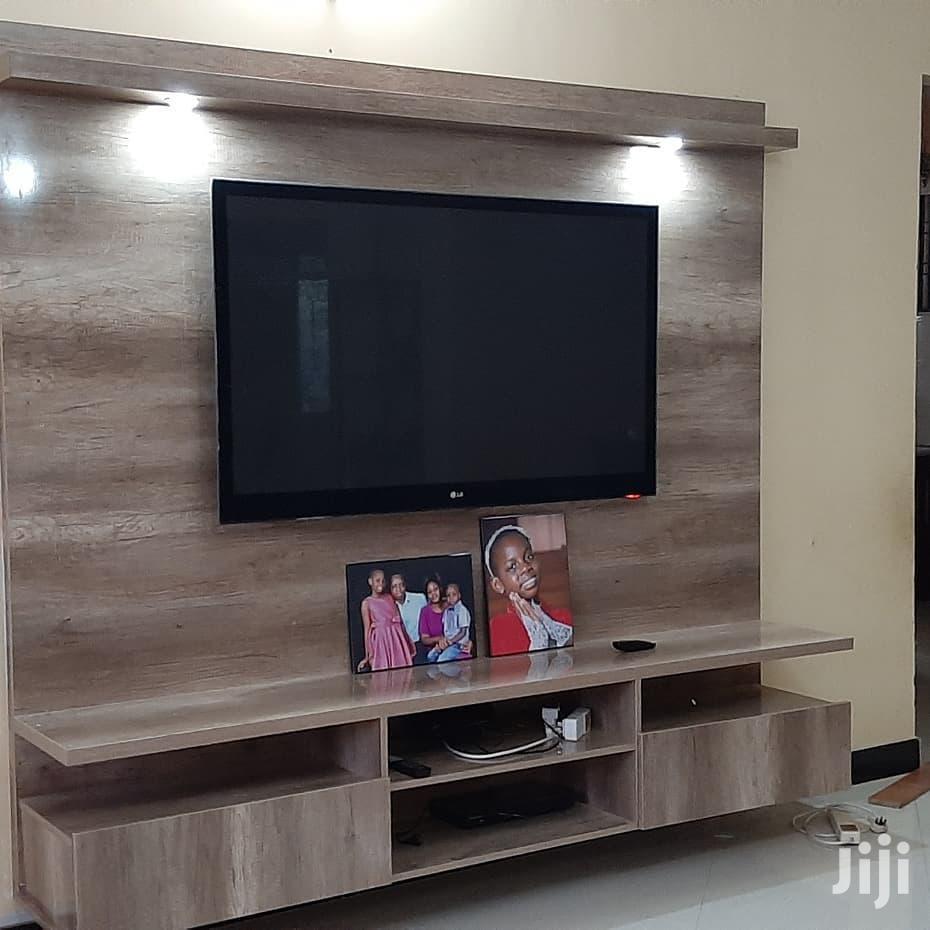 Complete Entertainment Unit From KSA Furniture.