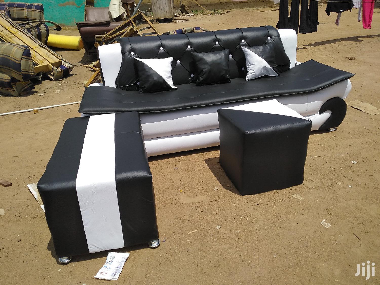 Emmanuel Leather Sofa