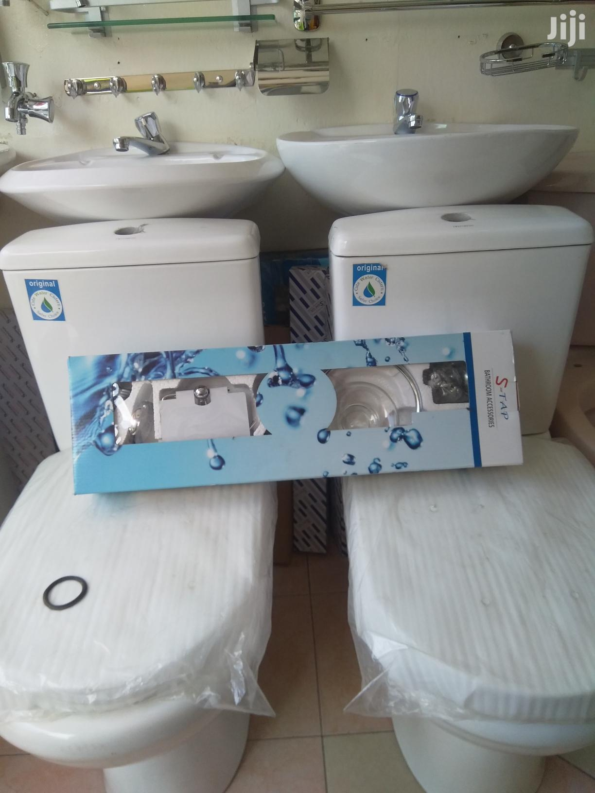 Bathroom Accessories And Twyford Wc Slim System. | Plumbing & Water Supply for sale in Ga South Municipal, Greater Accra, Ghana