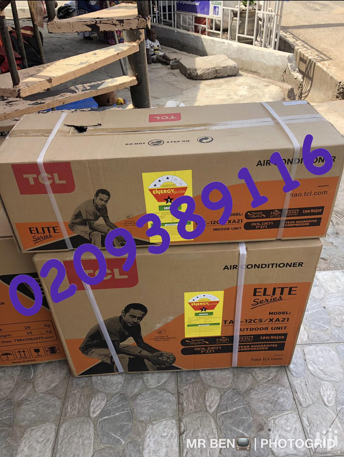 New TCL 1.5 HP Split Air Conditioner (3stars)
