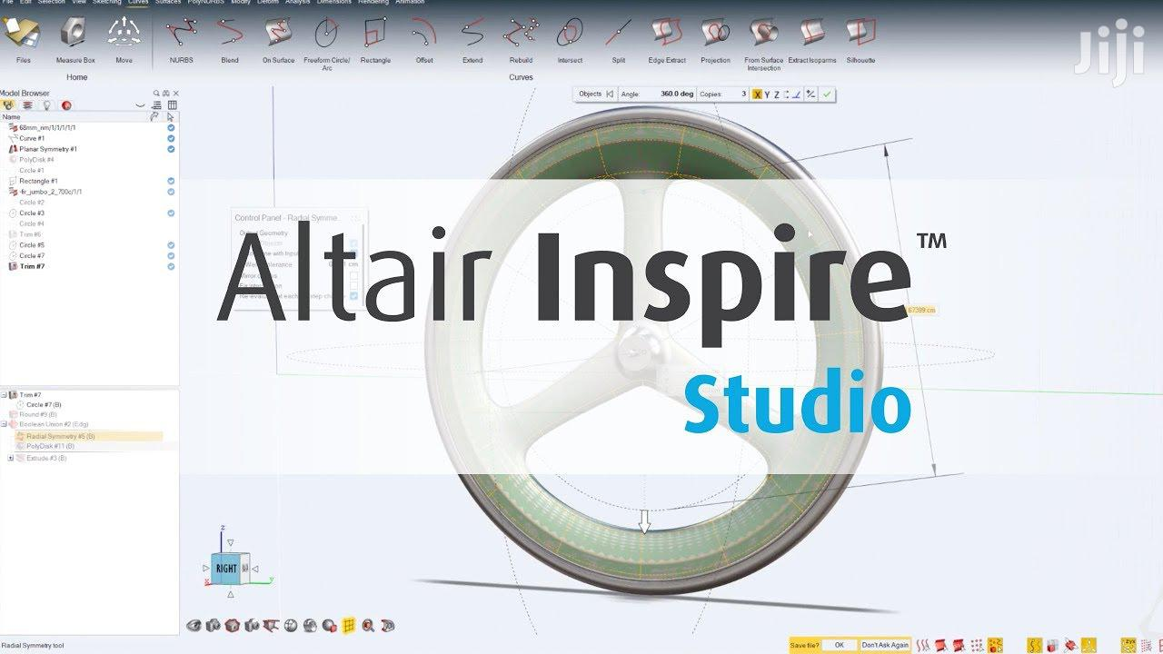 Altair Inspire Studio 2019 Full Version