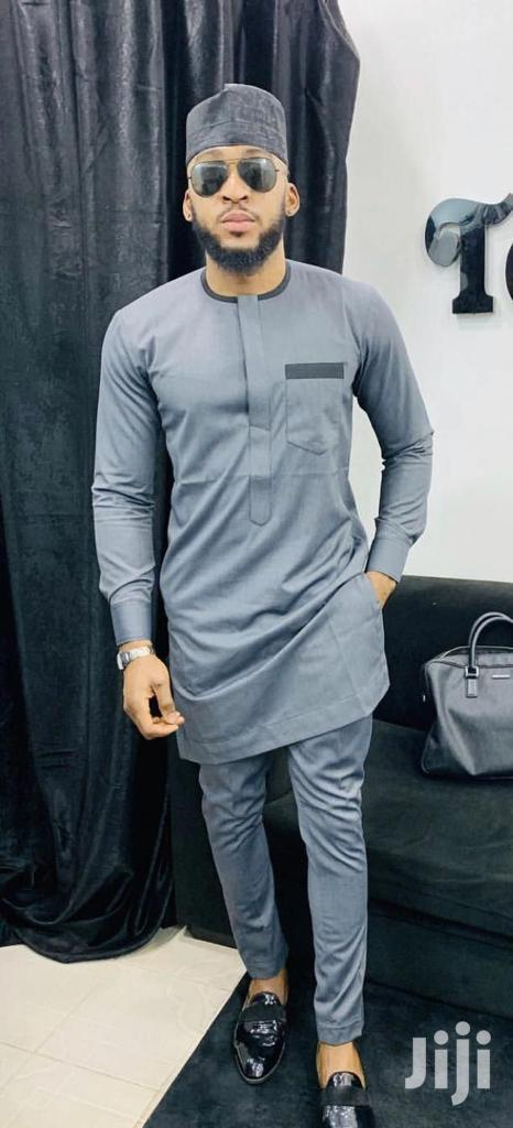 Archive: Grey African Wear Made for Men
