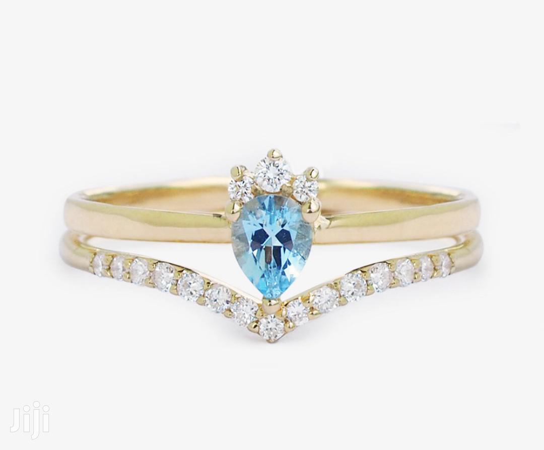 18k Wedding Ring 3 Set