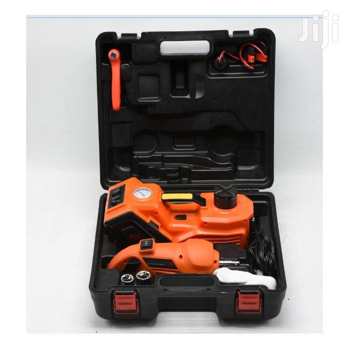 3 In 1 Automatic Car Jack/Compressor | Vehicle Parts & Accessories for sale in Adenta Municipal, Greater Accra, Ghana