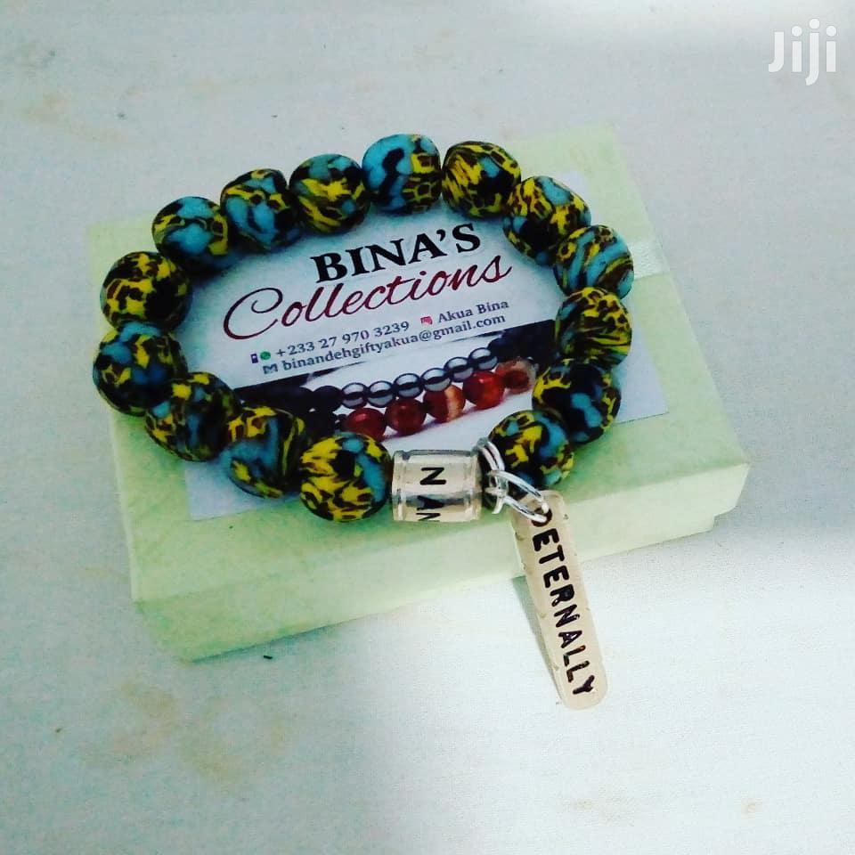 Customized Beaded Bracelet