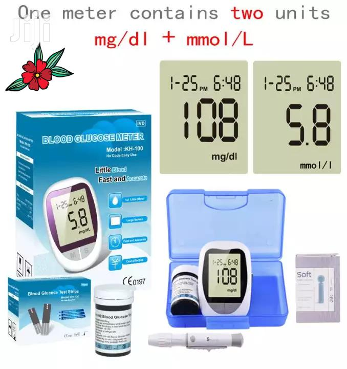 Blood Glucose Meter Diabetes Monitor Blood Sugar Glucometer | Tools & Accessories for sale in Abelemkpe, Greater Accra, Ghana