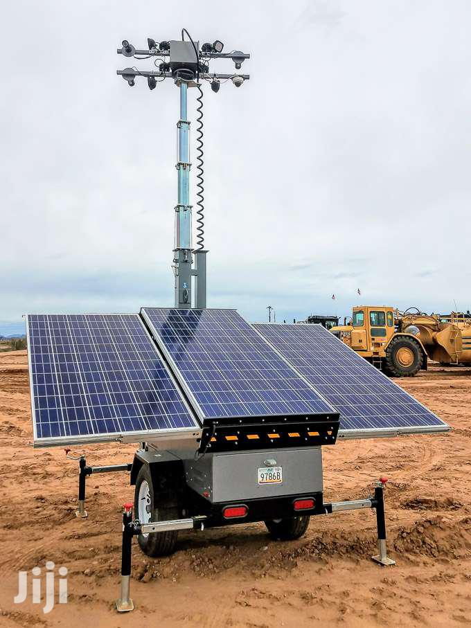Mobile Solar Light And Security Towers | Solar Energy for sale in Asuogyaman, Eastern Region, Ghana