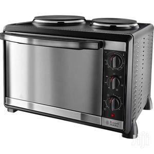 Russell Hobbs 30L  2 Hotplate Burners Mini Oven In Black