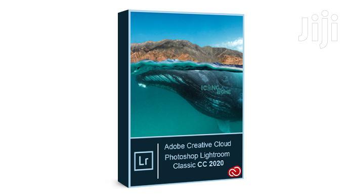 Adobe Photoshop Lightroom Classic 2020