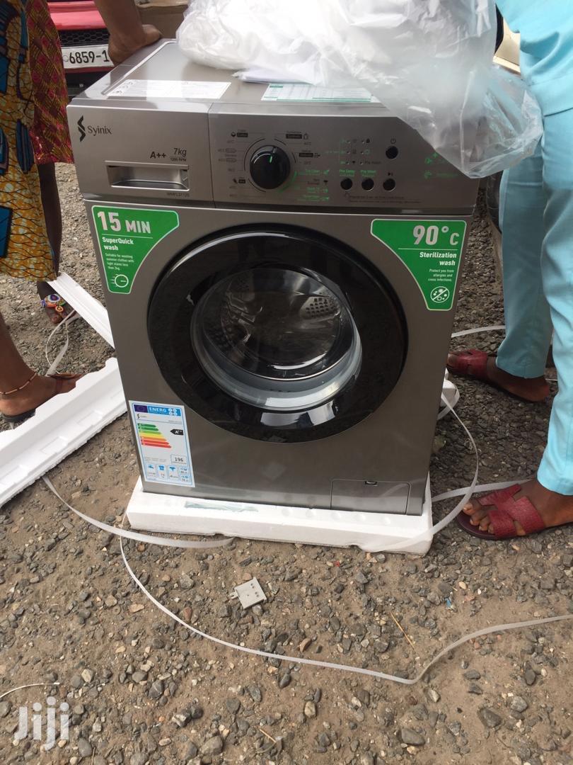 Syinix 7kg Front Load Full Automatic Washing Machine
