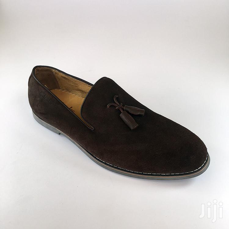 Original Clarks Brown Suede Shoe