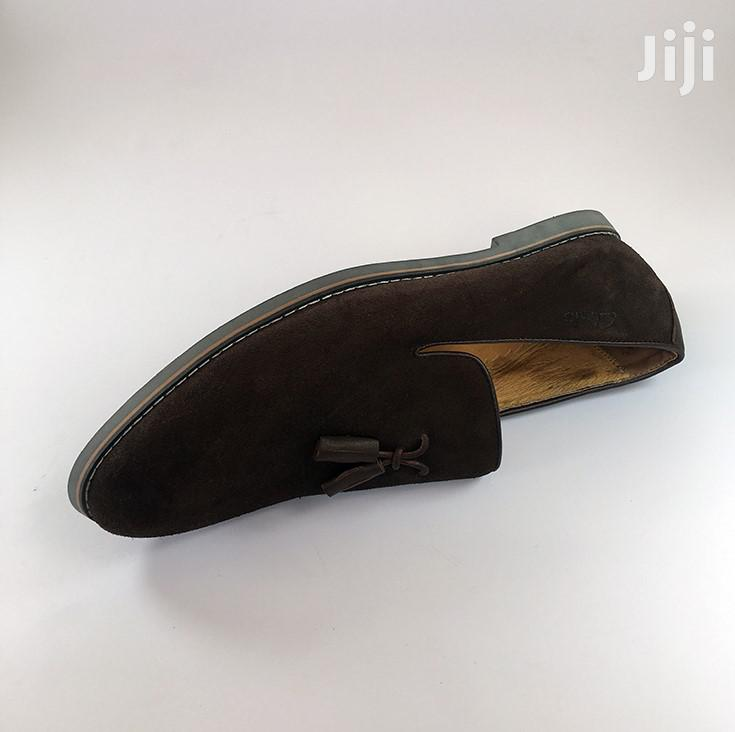 Original Clarks Brown Suede Shoe | Shoes for sale in Ashaiman Municipal, Greater Accra, Ghana