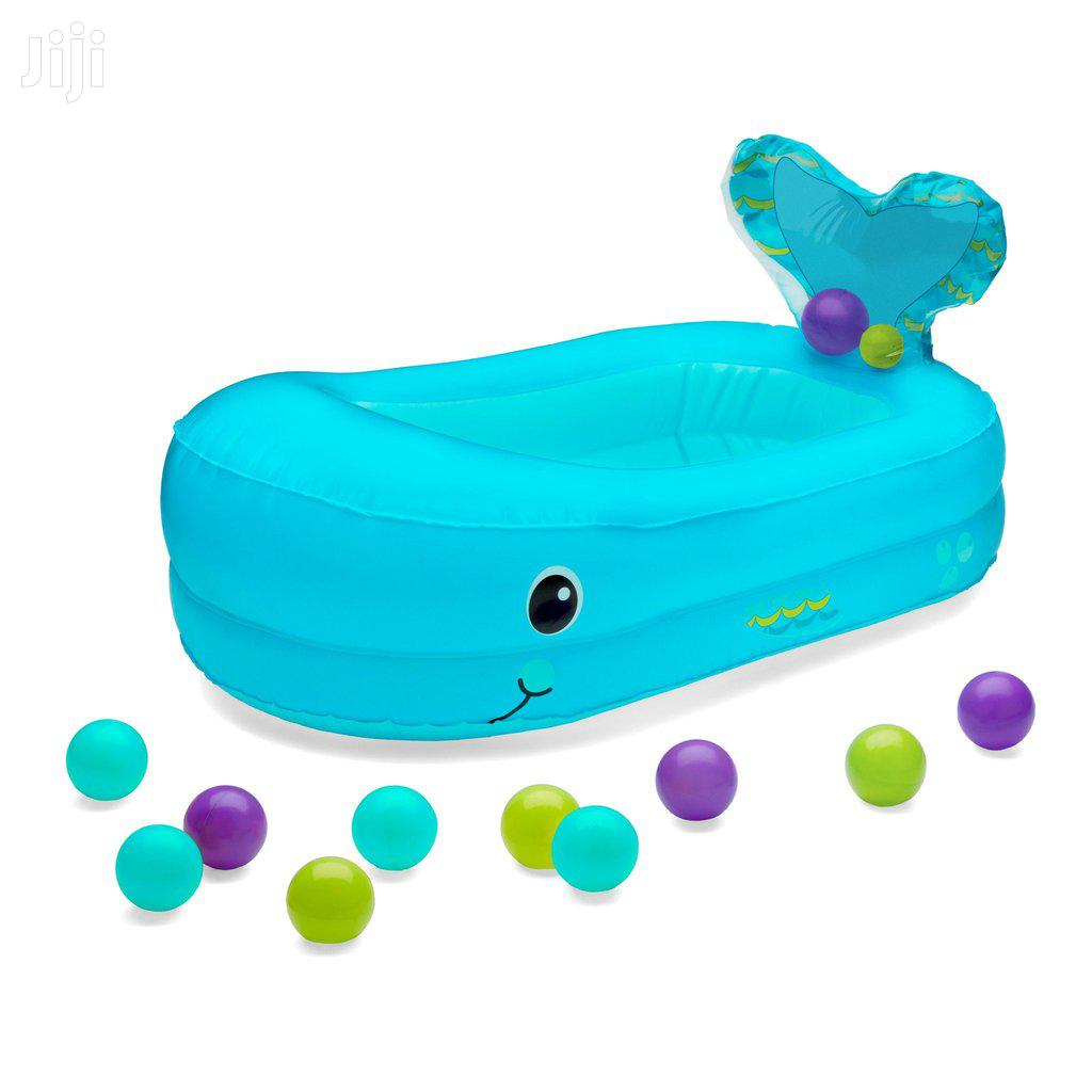 Inflatable Bubble Bath Tub