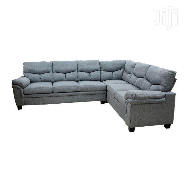 Corner Sofa Set Brown/Grey