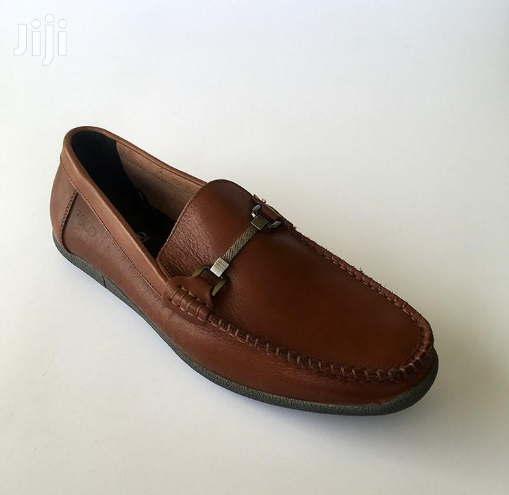 Original Polo Brown Leather Loafers