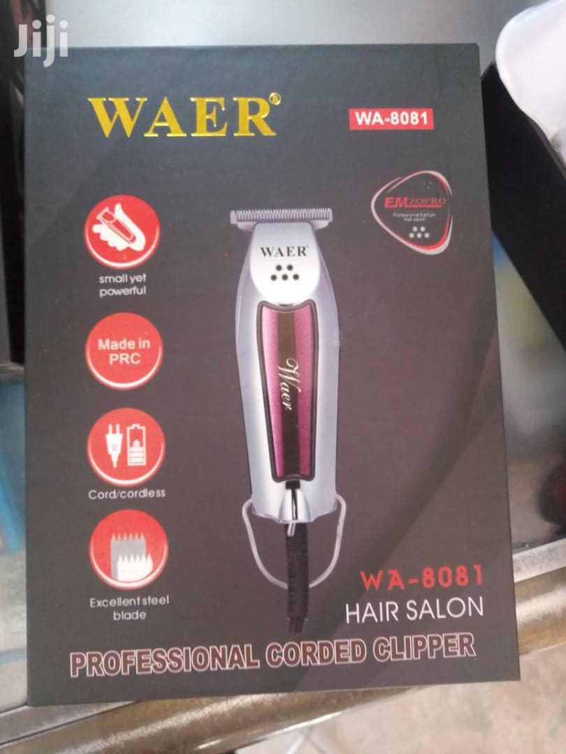Waer Detailer Hair Clipper For Skinning And Balding