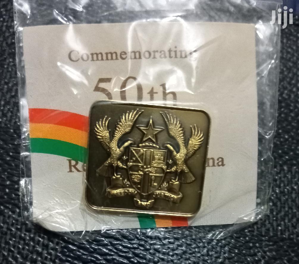 Ghana Coat of Arms Brooch