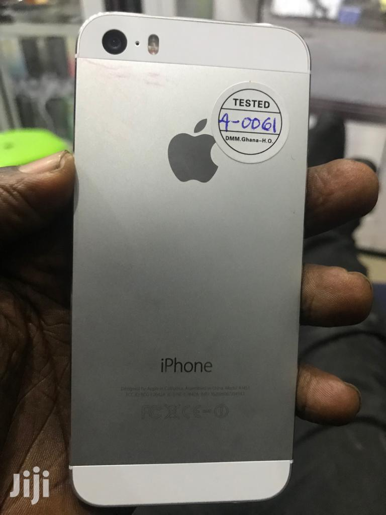Apple iPhone 5s 16 GB White   Mobile Phones for sale in Achimota, Greater Accra, Ghana