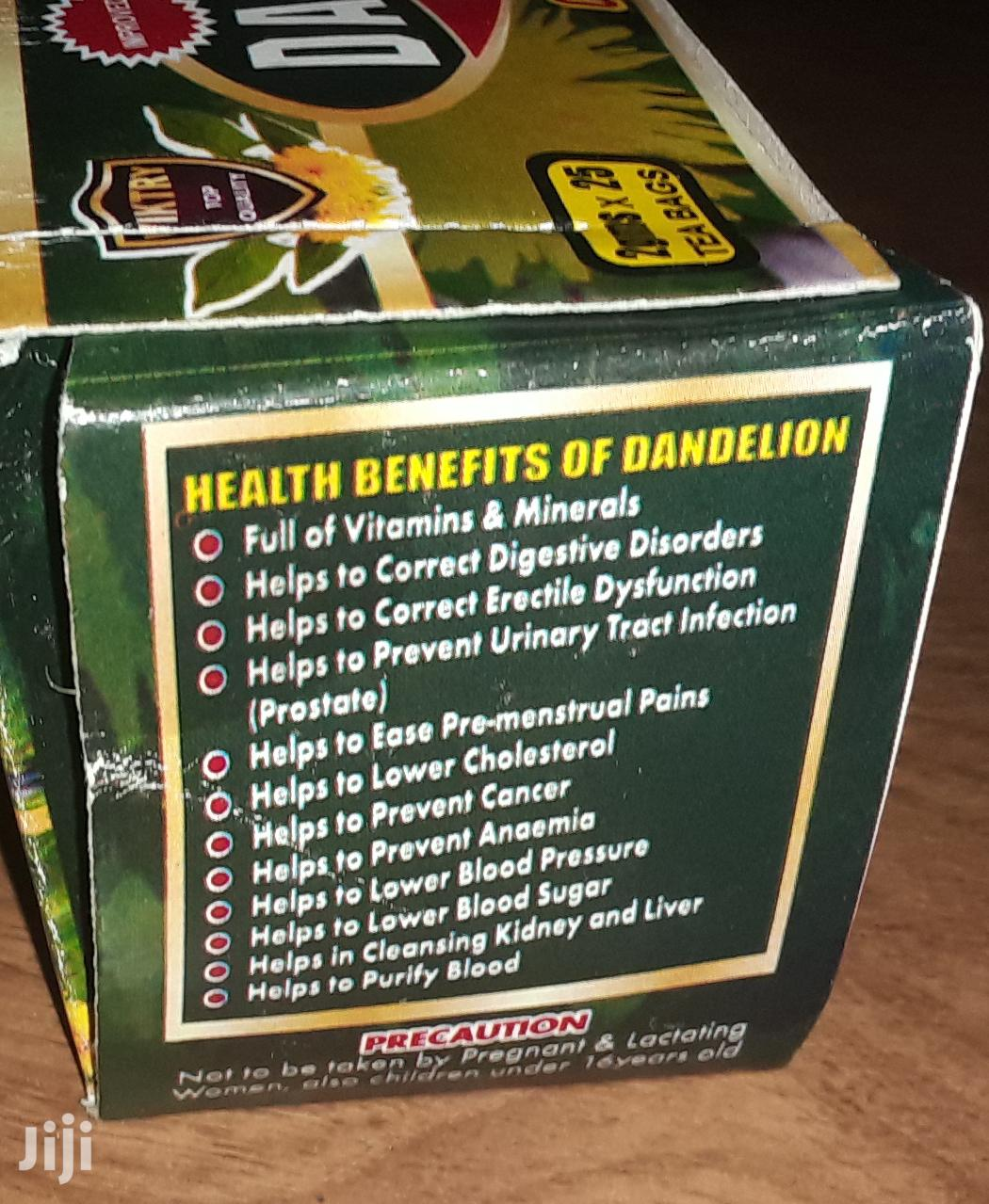 Dandelion Leaf Tea | Vitamins & Supplements for sale in Lartebiokorshie, Greater Accra, Ghana