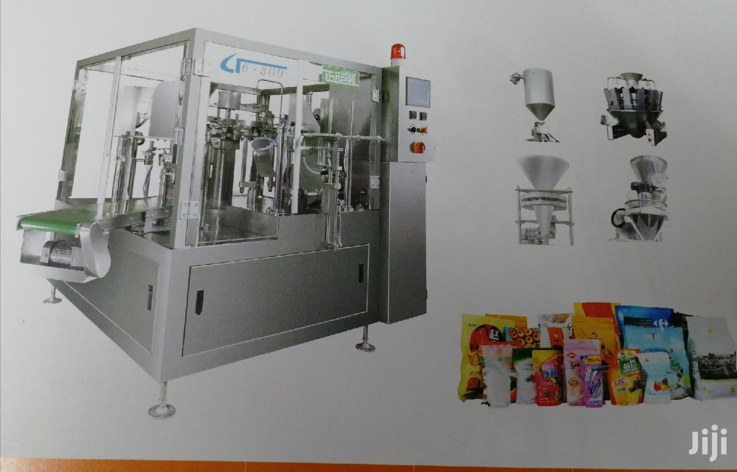 Archive: Doypack Automatic Packing Machine