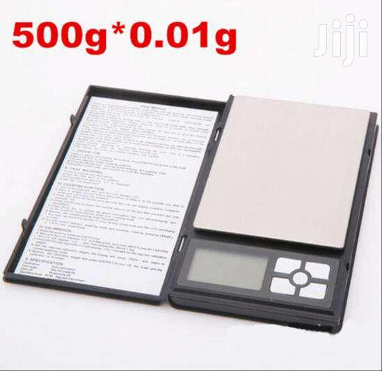 Notebook Pocket Scale