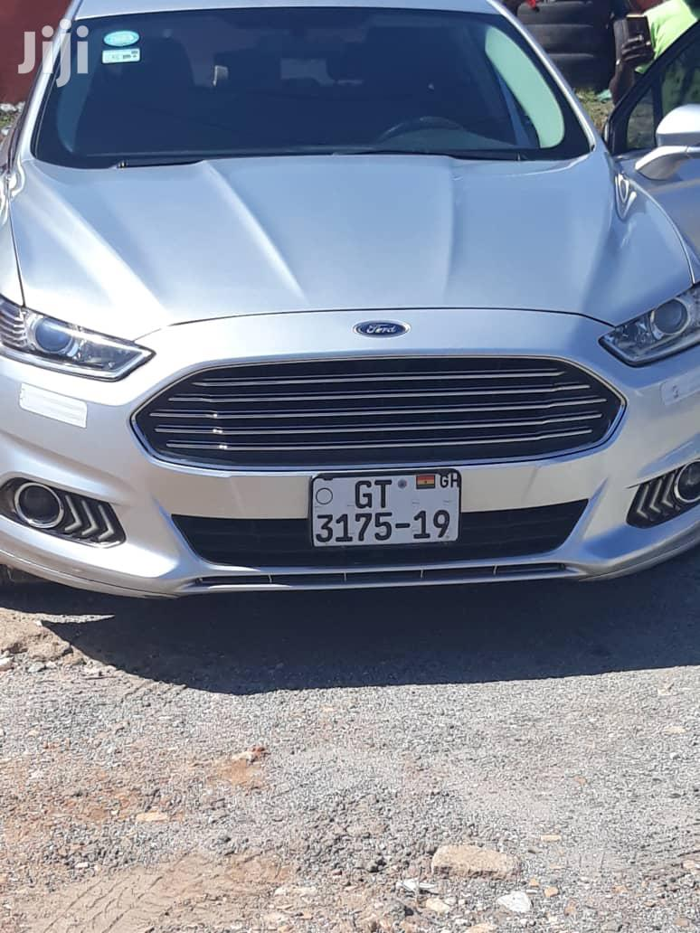 Archive: Ford Fusion 2015 Silver