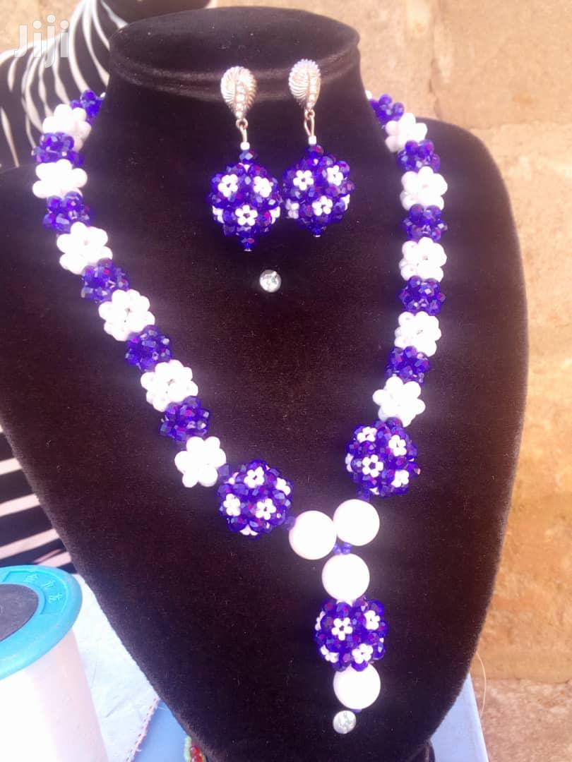 Archive: Beaded Necklace And Earrings Available