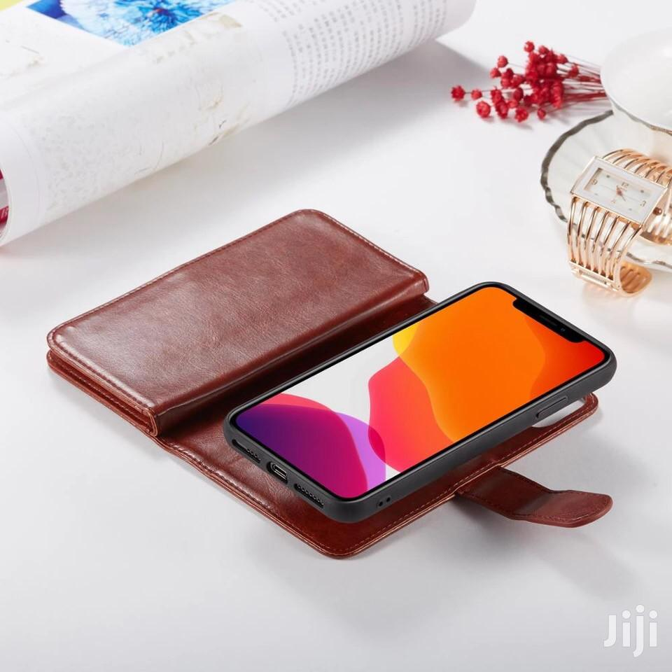 2 in 1 Leather Flip Detachable Case for iPhone Xsmax Xr Xs X 8plus 8 7 | Accessories for Mobile Phones & Tablets for sale in Tesano, Greater Accra, Ghana