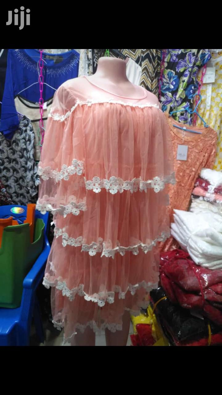 Short Maxi Lace Dress | Clothing for sale in Odorkor, Greater Accra, Ghana