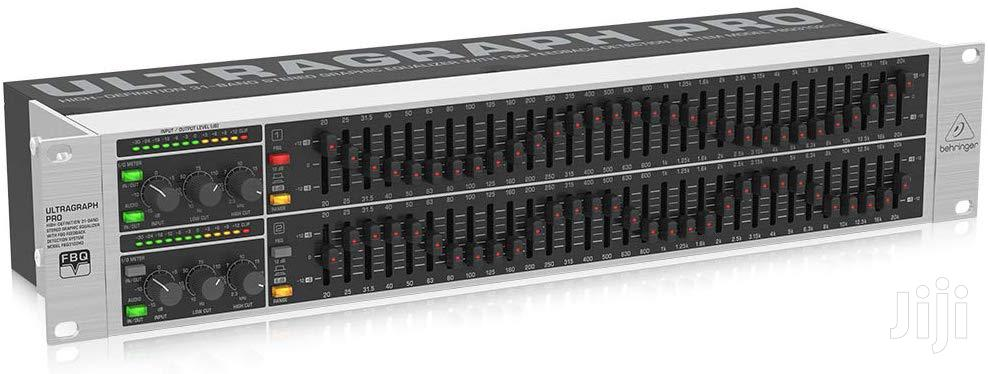 Archive: Behringer Fbq3102hd 31 Band Stereo Graphic Feedback Equalizer