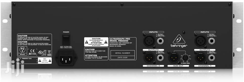 Archive: Behringer – Ultragraph Pro FBQ6200 31-band Stereo Graphic Equalizer