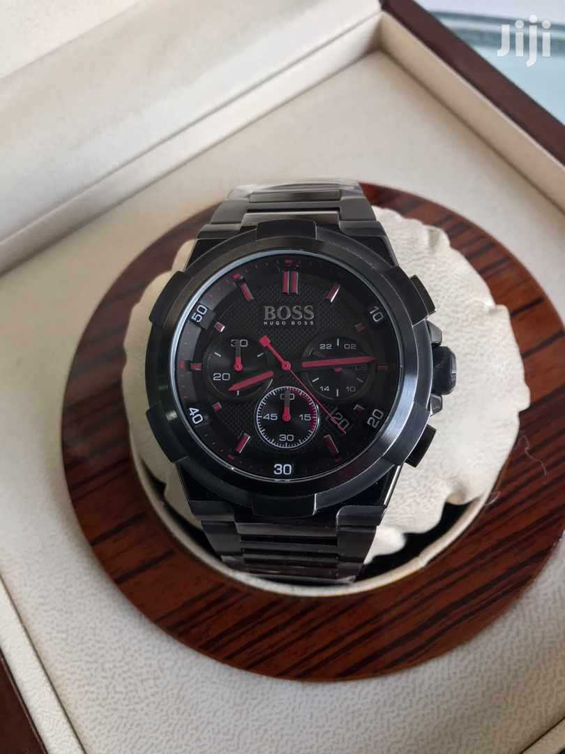 Archive: Red on Black Boss Watch