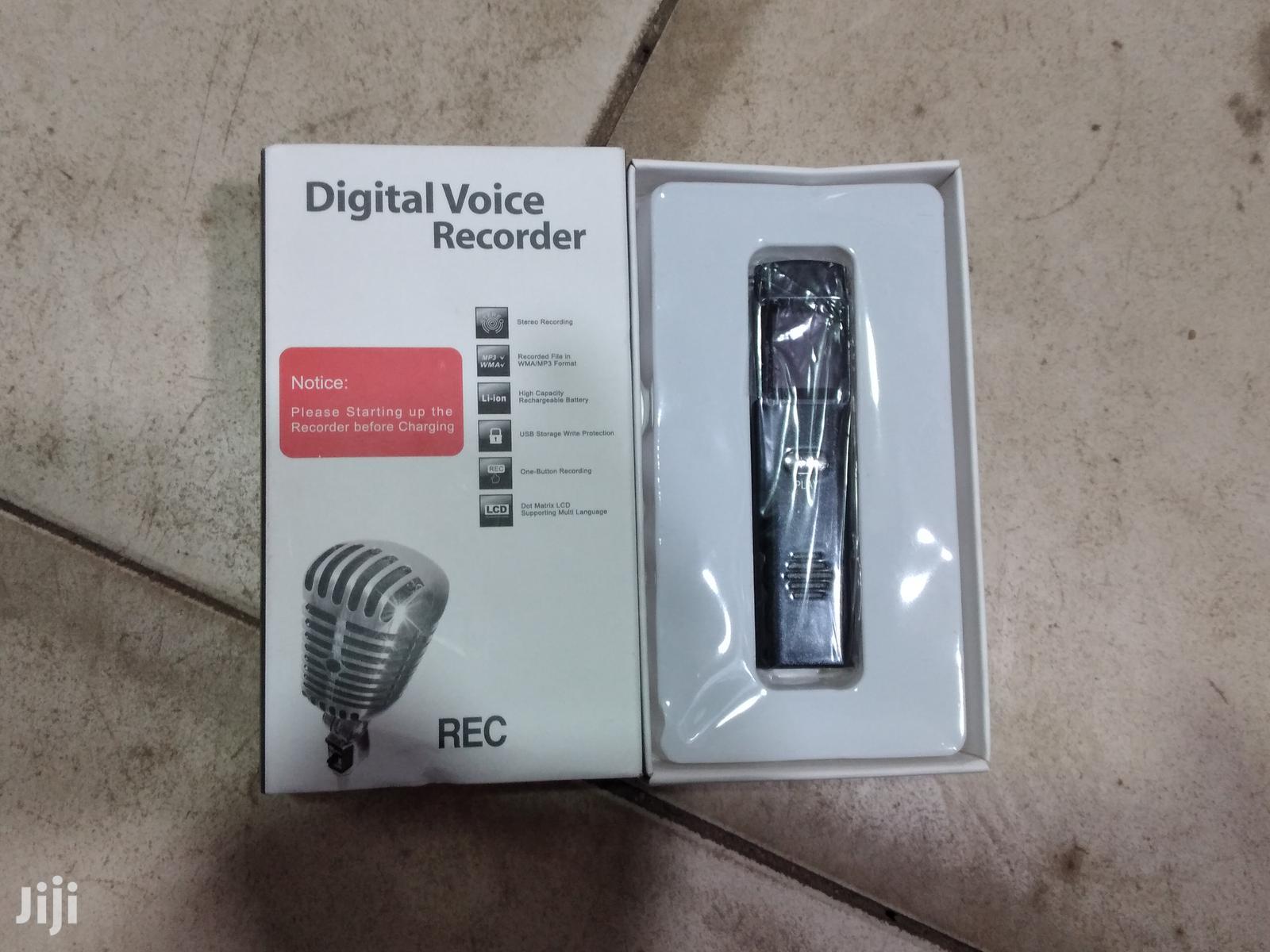 Digital Voice Recorder For Audio