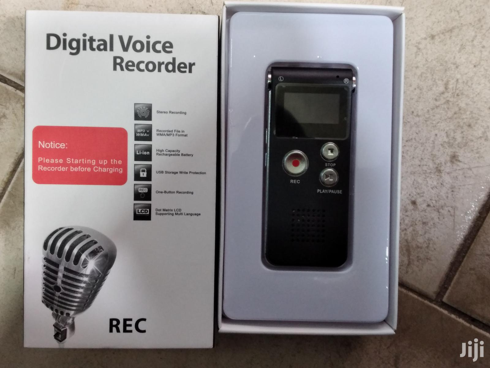 Digital Voice Recorder For Recording Voices Of Somebody