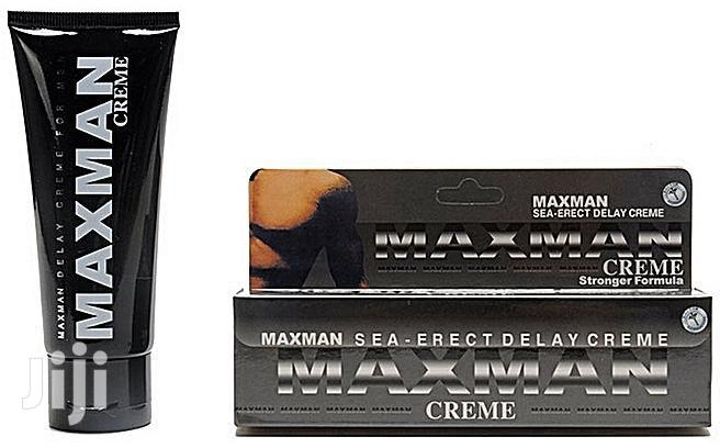Archive: Maxman Delay And Penis Enlargement Cream X3
