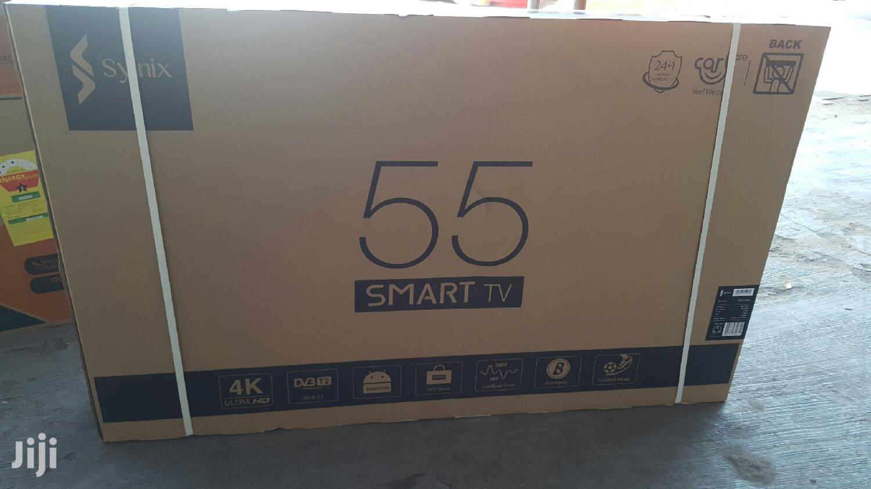 Syinix 55 Smart Tv 4K | TV & DVD Equipment for sale in Asylum Down, Greater Accra, Ghana