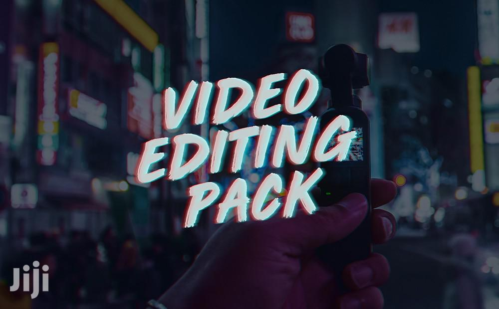 Archive: Professional Video Editing Packs