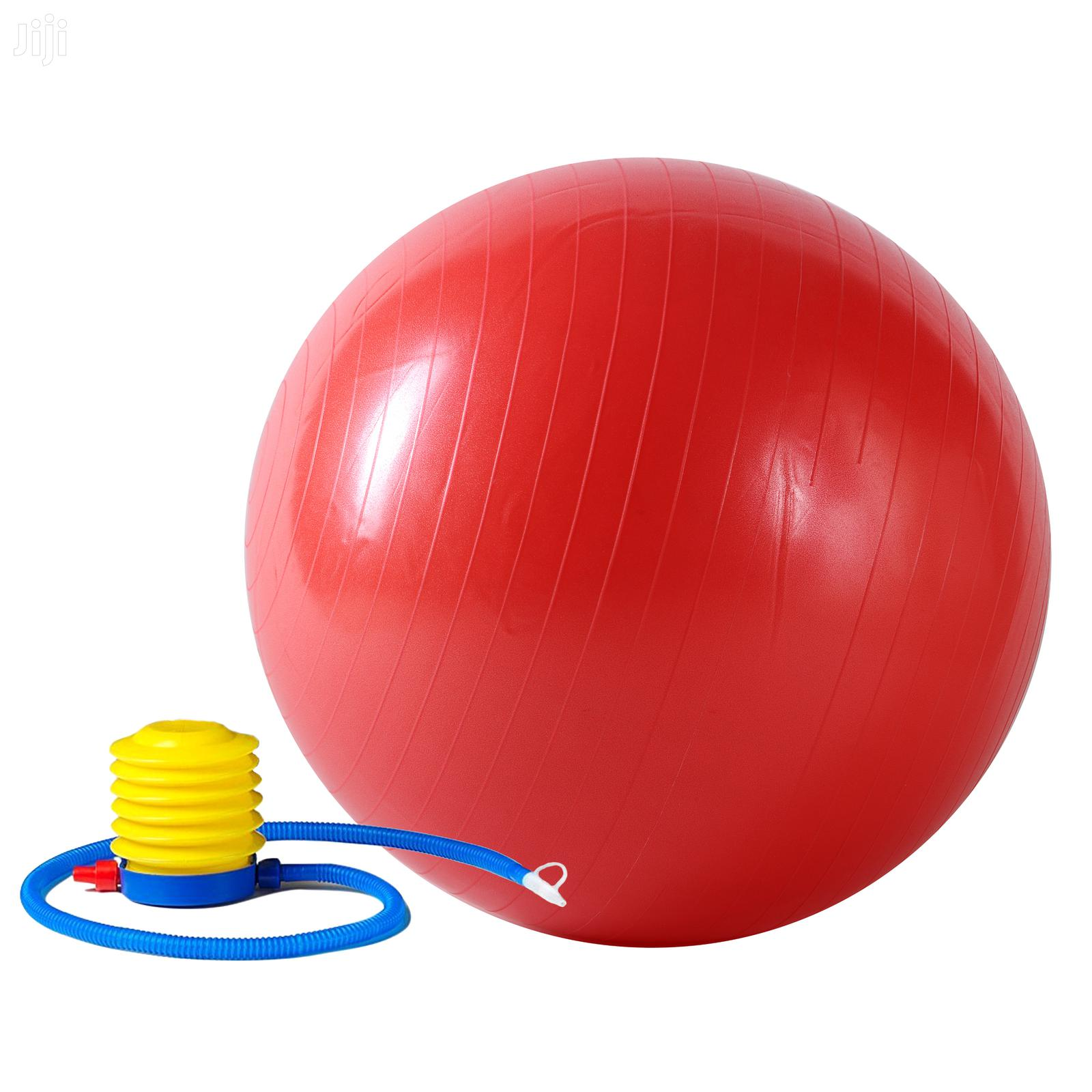 Anti-Burst Exercise Gym Ball | Sports Equipment for sale in Adenta Municipal, Greater Accra, Ghana