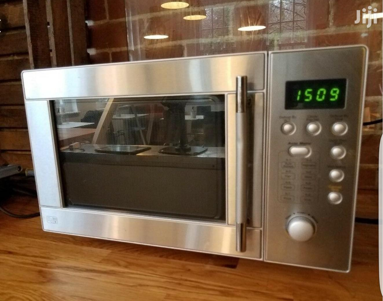 Sansbury Microwave Oven From UK (Stainless Steel)