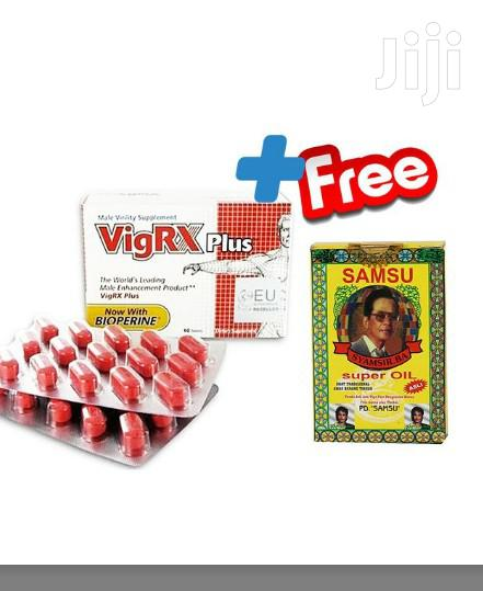 Archive: Penis Enlargement Pills - 60 Tablets + Free Samsu Sex Delay Oil