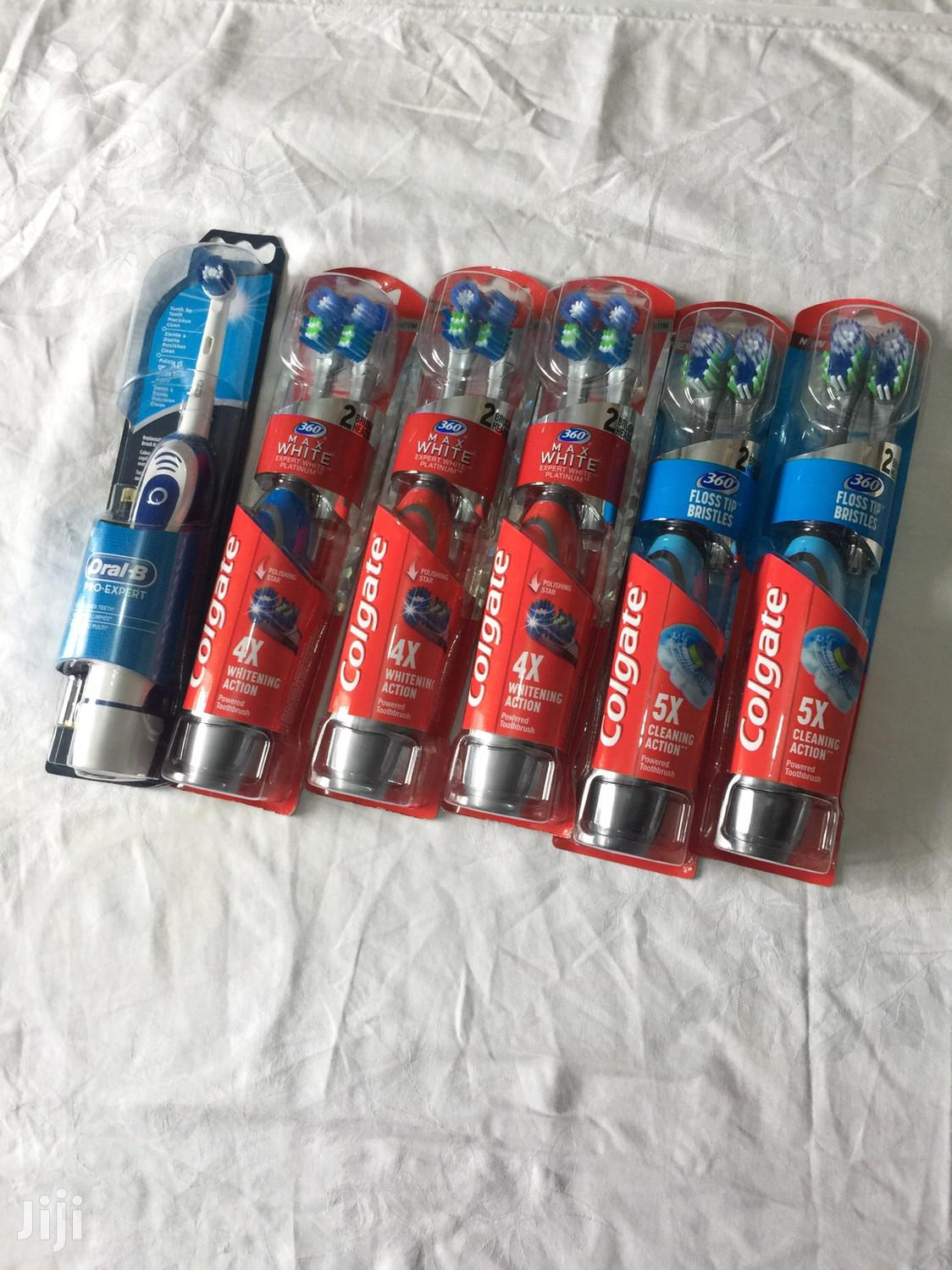 Oral B And Colgate Machine Toothbrush From U.K In Stock | Bath & Body for sale in North Kaneshie, Greater Accra, Ghana