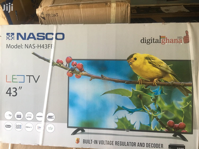 Ultra Slim Nasco 43 Digital & Satellite Led Tv