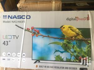 Ultra Slim Nasco 43 Digital & Satellite Led Tv | TV & DVD Equipment for sale in Greater Accra, Adabraka