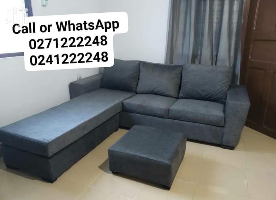 L Shape Sofa Furniture | Furniture for sale in Ga South Municipal, Greater Accra, Ghana