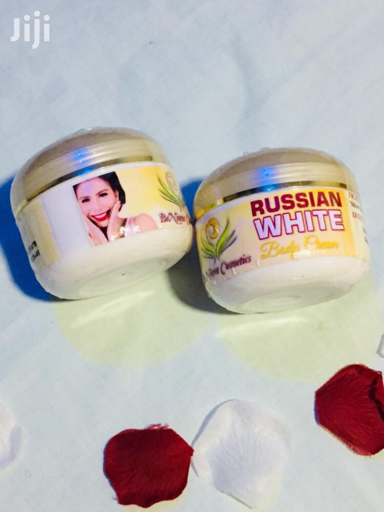 Russian White Body Cream