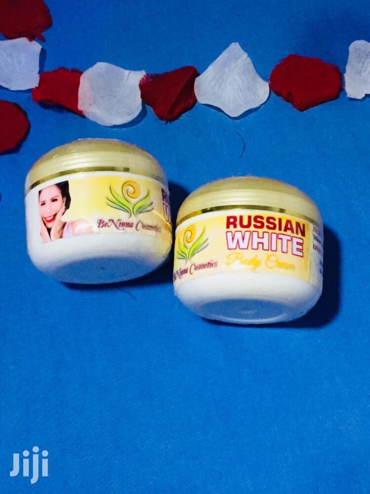 Russian White Body Cream   Bath & Body for sale in East Legon, Greater Accra, Ghana