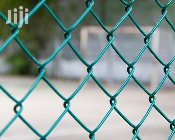 Chain Link, Galvanize And Pvc