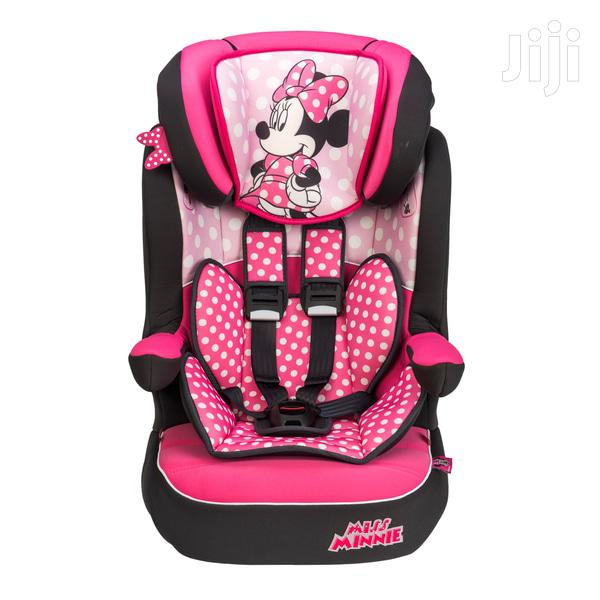 Imax Deluxe Disney Minnie Mouse Group 1-2-3 Car Seat Pink   Children's Gear & Safety for sale in East Legon, Greater Accra, Ghana