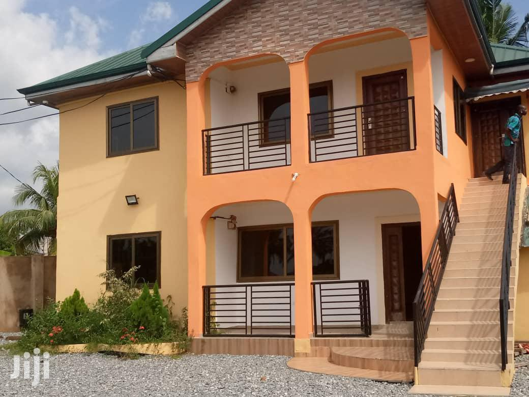 Six Bedroom House At Amasaman Kotoku For Sale